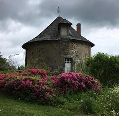 Jardin du Château de Pompadour