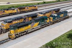 UP 1995 | EMD SD70ACe | UP Marion Intermodal Railport