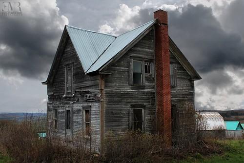 Maison abandonnée, La Juchée