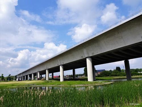 Le pont canal du Sart de Houdeng-Goegnies, La Louvière Belgique