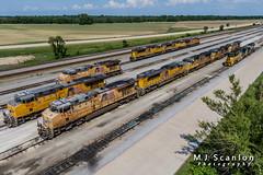UP 7679 | GE ES44AC | UP Marion Intermodal Railport