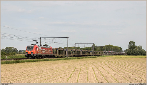 HSL Polska 186 382-8 @ Schoonaarde