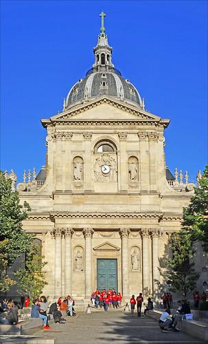 La chapelle de la Sorbonne à Paris