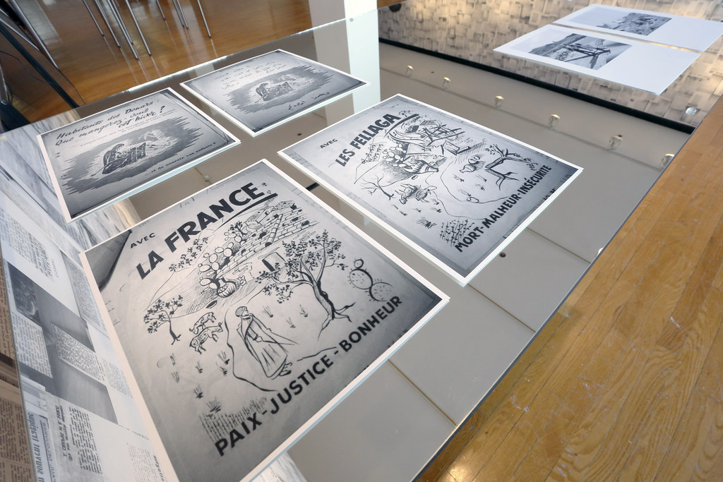 Samia Henni's exhibition:<em>Discreet Violence: Architecture and the French War in Algeria</em>, John Hartell Gallery.