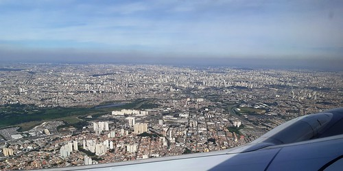 São Paulo, the size of this city amazes me always