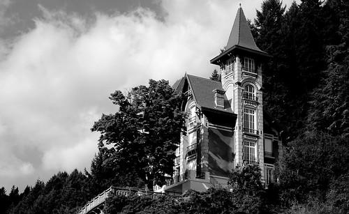 Le Cheylard (Ardèche, Fr) – Villa ou château Maza – Architecture 1900