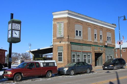 Farmers State Bank Building (Former Post Office) - Cuba City, WI