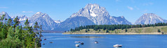 Colter Bay,  Jackson Lake, Grand Teton, WY 2011
