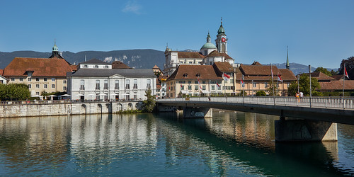 Solothurn – River Aare and Old town