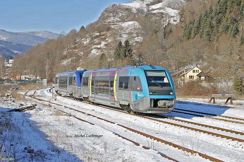 UM 73502-Pays de la Loire- X73556 TER 832777 Kruth-Mulhouse à Wesserling