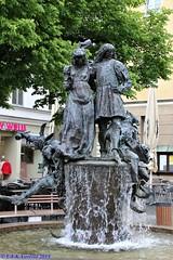 Amberg - Hochzeitsbrunnen
