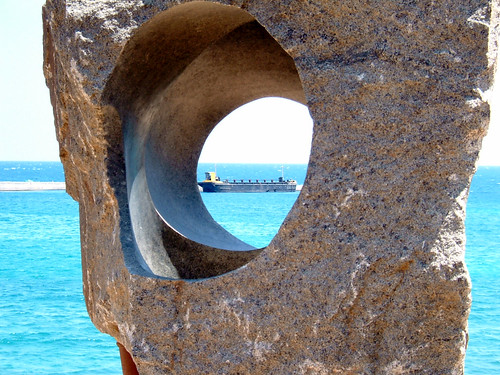 View Through The Rock