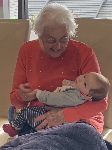 Nan and one of her Great Grandchildren