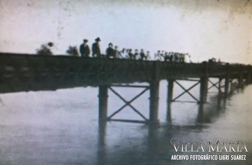 Inauguración del puente Isidro Fernández Nuñez, Villa María