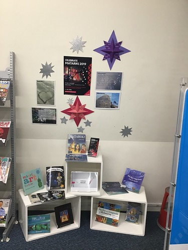 Matariki display, Hornby Library