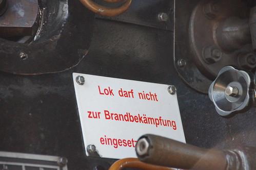 Lok darf nicht zur Brandbekämpfung eingesetzt werden