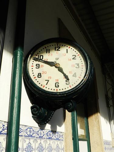 Station's clock