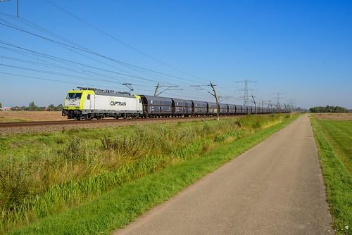 Captrain 186 156 met ERR Falns, Angeren