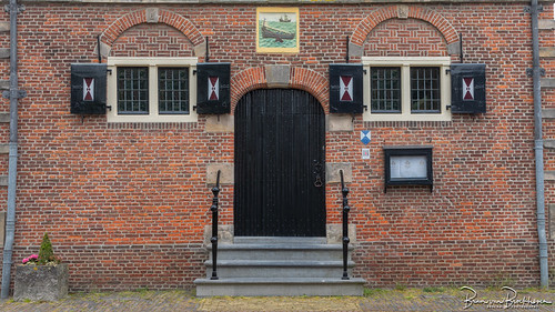 Entrance to the former Grootschermer Town Hall