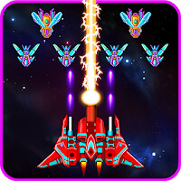 free download Galaxy Attack: Alien Shooter v7 47 Mod Apk