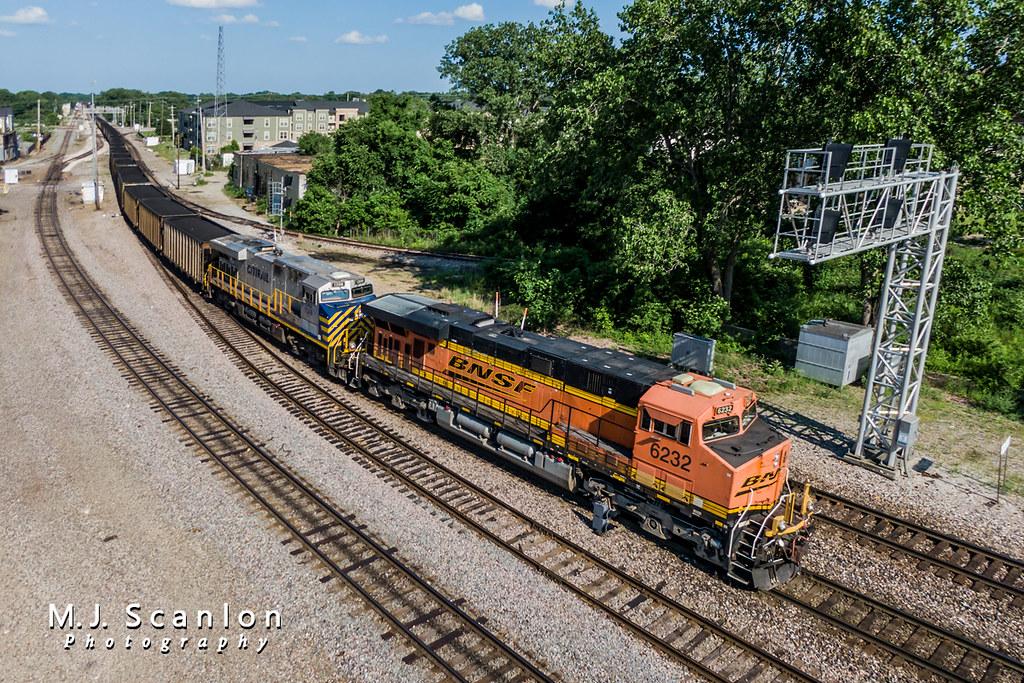 BNSF 6232 | GE ES44AC | BNSF Thayer South Subdivision