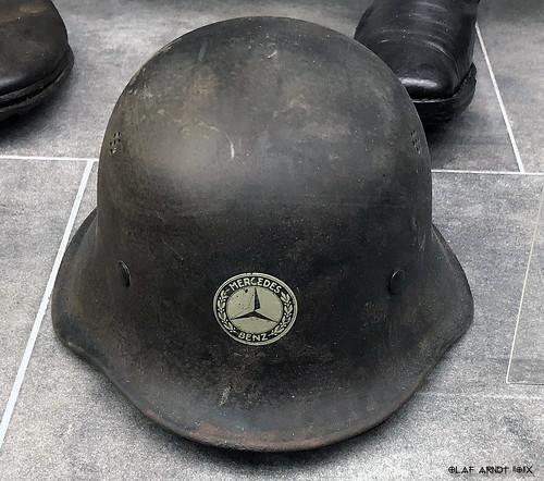 Mercedes Benz steel helmet