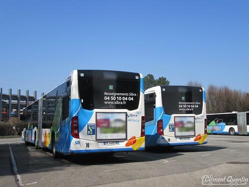 MERCEDES-BENZ Citaro G - 50 et 49 - Sibra