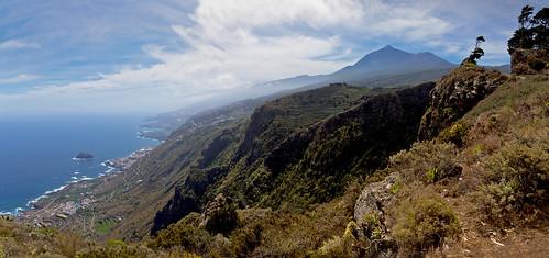 Feliz día de Canarias! Panorama del Norte de Tenerife