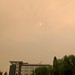 The forest fires are real. Smoke has covered the city today and you can feel it in your lungs.