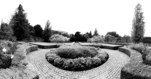 Belfield house walled garden ~ HBM