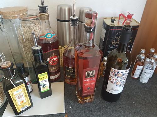Flaschen Rumflaschen © Rum Bottles Liqueur ©
