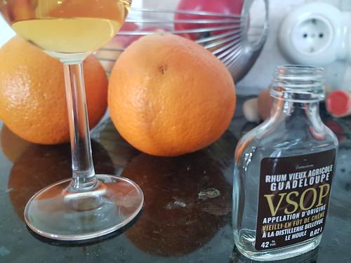 Obst Frucht Rumglas © Fruit Liqueur Glass Drink ©
