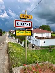 Etalans, Franche-Comté, Frankreich