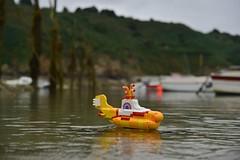 Gwin Zegal en Yellow Submarine :-()