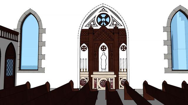 interior - side chapel