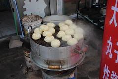 Chińskie pierożki gotowane na parze