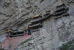Wiszący Klasztor w Hunyuan