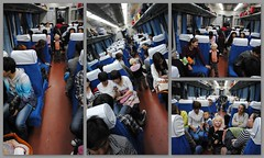 Nocny pociąg osobowy z Datong do Pekinuu