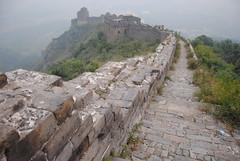 Wielki Mur w okolicy Jiao Shan