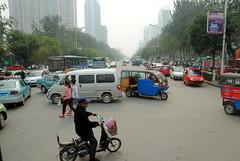Ruch uliczny w Qinhuangdao