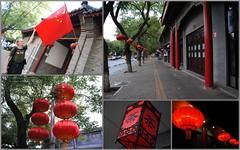 Pozostałości po święcie proklamowania chińskiej republiki ludowej
