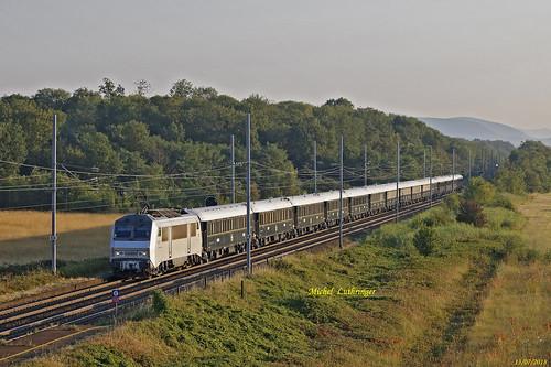 BB 26005 Train 27091 VSOE Calais-Venise à Staffelfelden