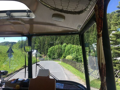Unterwegs im Fleischer-Bus
