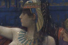 Cleopatra detail from Alexandre Cabanel Cleopatra testing poisons on condemned prisoners 720X480