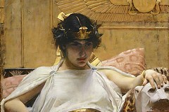 Cleopatra by John William Waterhouse 1888 WM 720X480