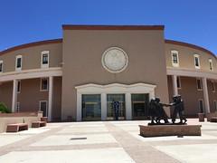New Mexico State Capitol building.  Santa Fe New Mexico.  May 26 2019.