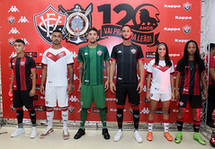 Lançamentos uniformes 2019 (ECV) - Fotos: Tiago Caldas / E.C Vitória