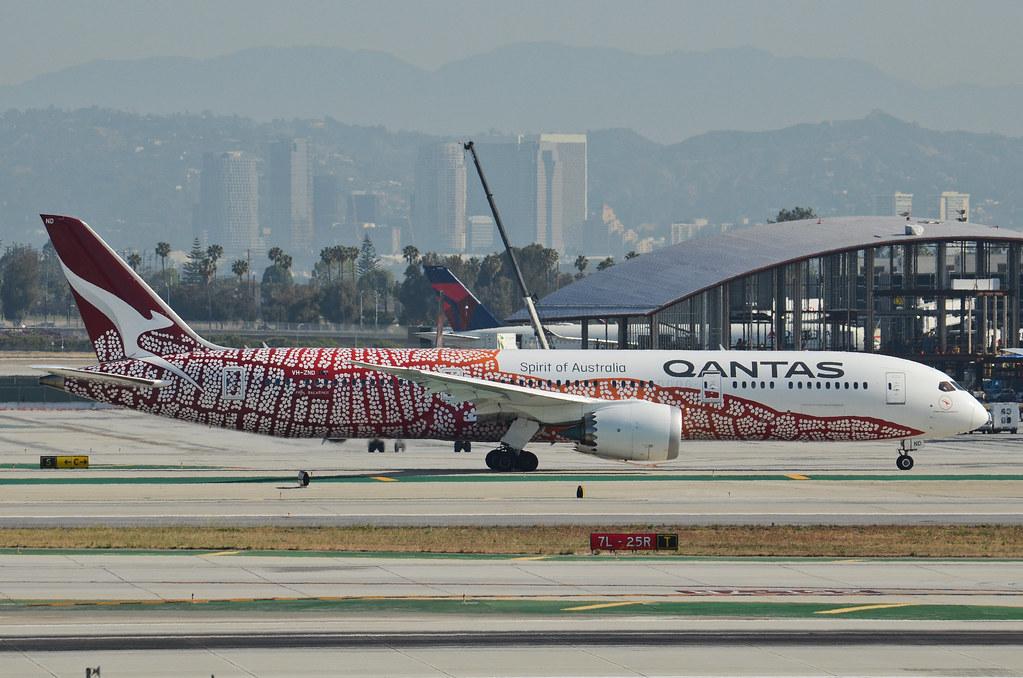 Qantas Airways Yam Dreaming Livery 787-900 (VH-ZND) - LAX
