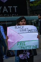 Protesting AIPAC and Israeli Treatment of the Palestinians Chicago Illinois 5-30-19_0875