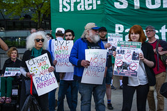 Protesting AIPAC and Israeli Treatment of the Palestinians Chicago Illinois 5-30-19_0873